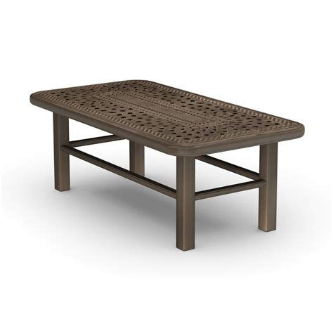 Homecrest Camden Cast 24 Quot X 46 Quot Coffee Table 142446 24 Coffee Table