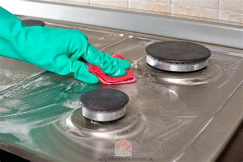 Clean Cooktop Stove how to clean a stove cooktop stay at home