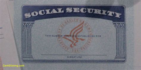 ssi card templates new social security card template photoshop best templates