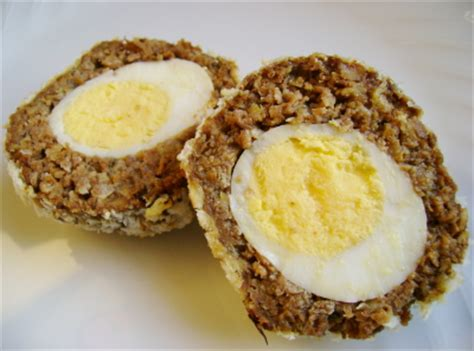 v is for vegetarian scotch eggs the left wright brain