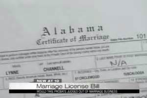 Oregon State Marriage License Records Alabama Committee Approves Bill To End State Marriage Licenses On Top Magazine