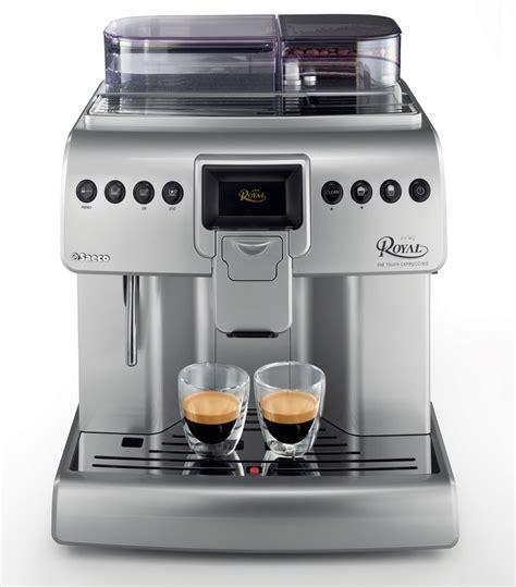 Coffee Machine Saeco saeco royal one touch cappuccino superautomatic espresso