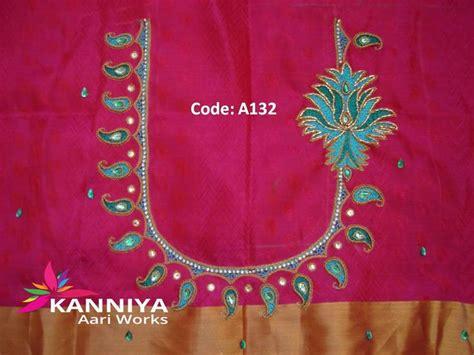 blouse pattern works 94 best kanniya aari works images on pinterest blouse