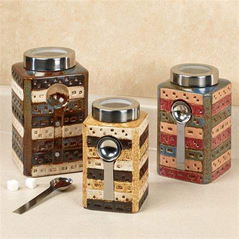Colorful Kitchen Canisters Sets by Canisters Extraordinary Colorful Kitchen Canisters Sets