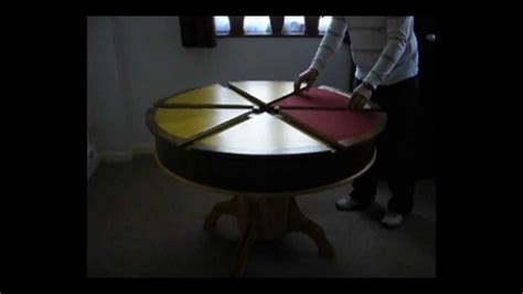 primmer expanding table youtube expanding table and card table together part 3 youtube