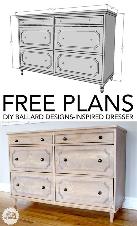 Dresser Diy Plans by 17 Best Images About Stands On White Drawers And Woodworking Plans