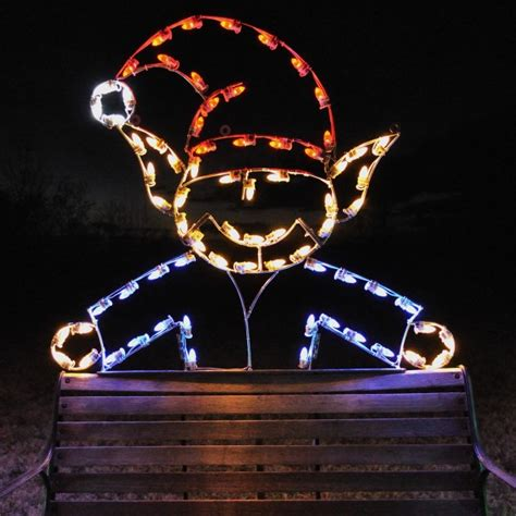 A Large Collection Of Outdoor Christmas Light Displays Outdoor Light Displays