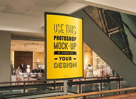 graphicburger flyer mockup indoor advertising poster mockup graphicburger