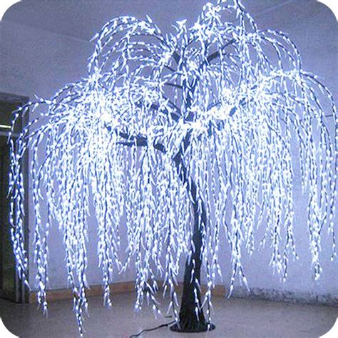 simulation plant artificial indoor led lighted decoration