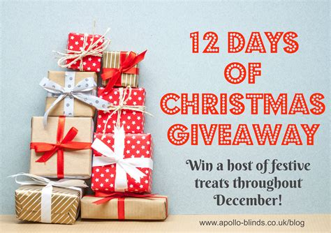 Christmas Sweepstakes 2016 - 12 days of christmas giveaway 2016 171 apollo blinds blog