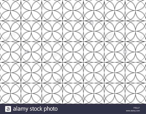 geometric pattern outline fully editable seamless geometric repeat pattern outline