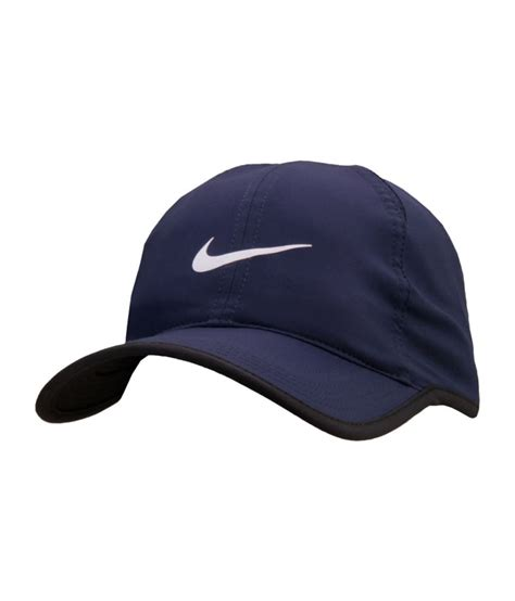 Nike Feather Light Cap by Nike Navy Blue Feather Light Tennis Cap Buy Rs