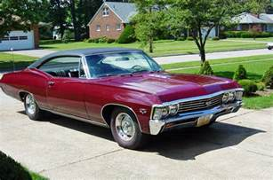 photo gallery of the 1967 impala ss427 page three
