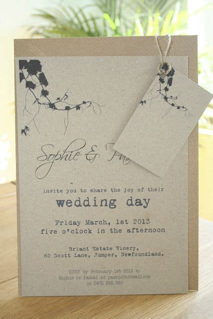 vine vineyard theme wedding invitation andrea your printed stuff wine themed
