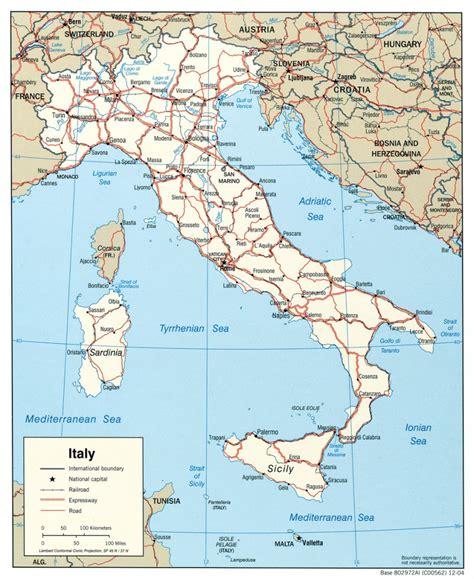 di talia mapa de italia viajar a italia