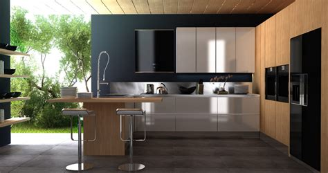 Contemporary Kitchen Cabinets Design Modern Style Kitchen Designs