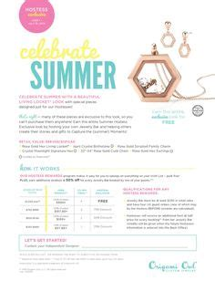 Origami Owl Summer - 1000 ideas about origami jewelry on origami