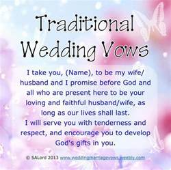 wedding vows template wedding vows exles traditional modern