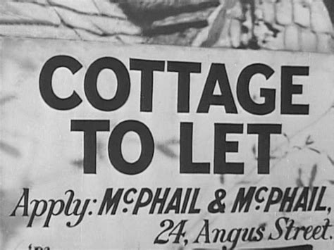 cottage to let cottage to let 1941