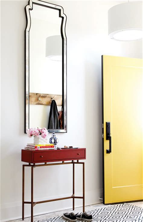 Front Hallway Table 15 Hallway Decorating Ideas To Make Coming Home A Treat Chatelaine