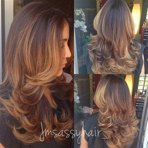 hairstyles for long hair balayage 80 cute layered hairstyles and cuts for long hair
