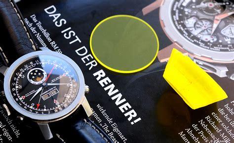 Saphir Uhrenglas Polieren by Diverse