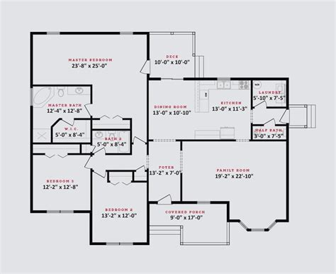 Georgetown Floor Plan | georgetown floor plan 3 bed 2 5 bath tomorrow s homes