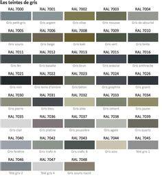 nuancier ral gris | benjamin moore | pinterest