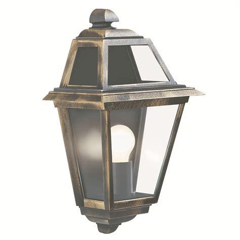 Orleans Outdoor Light Flush Wall Light