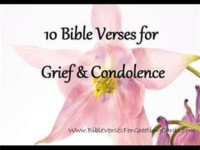 bible verses grief