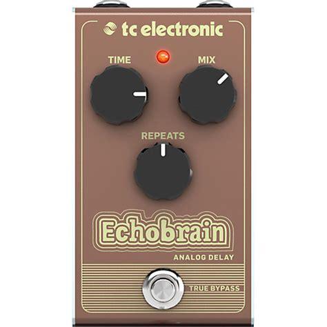 Tc Electronic Delay tc electronic echobrain analog delay effect pedal guitar