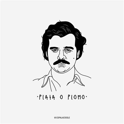 Pablo Escobar Drawing pablo pablo pablo v o g u e artwork