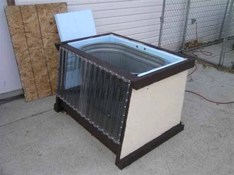 solar panel stock tank heater diy solar stock tank keeps water from freezing solid in