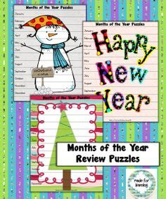 new year activities for primary grades start a happy new year 2015 with months of the year