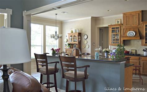 Outside Kitchen Cabinets Traditional Cottage Farmhouse Style Home Tour Debbiedoos
