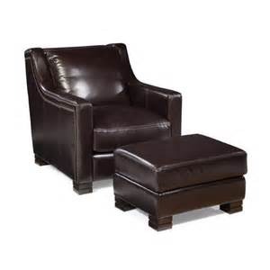 Leather Chair Ottoman Leather Arm Chair And Ottoman Wayfair