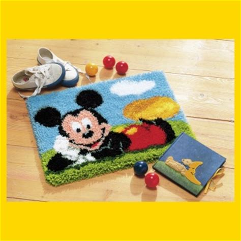 mickey mouse latch hook rug kits latch hook