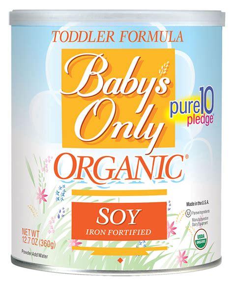 Dijamin Im Organic Kitten Baby And Formula 7 5 Kg baby s only organic soy toddler formula 12 7oz powder pack of 6