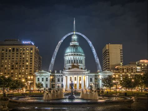 st louis st louis facts arch interim housing