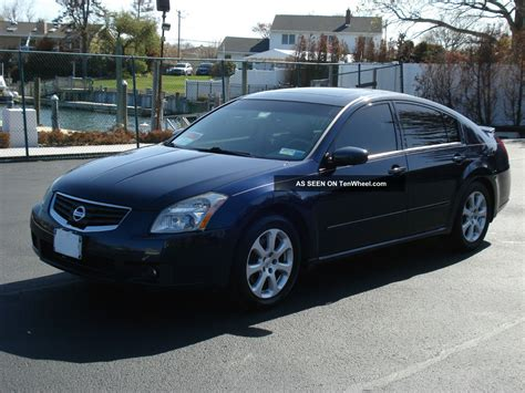 maxima nissan 2007 2007 nissan maxima sl private owner very