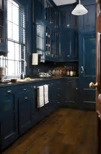 kitchens with blue cabinets dark blue kitchen cabinets