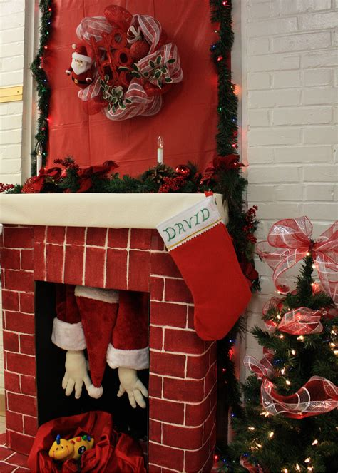 how to decorate doors and chimeny for christmas employees contest boosts creativity morale article the united states army