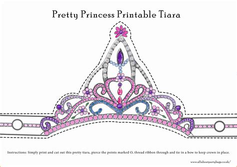 How To Make A Princess Tiara Out Of Paper - 11 princess crown template cashier resume