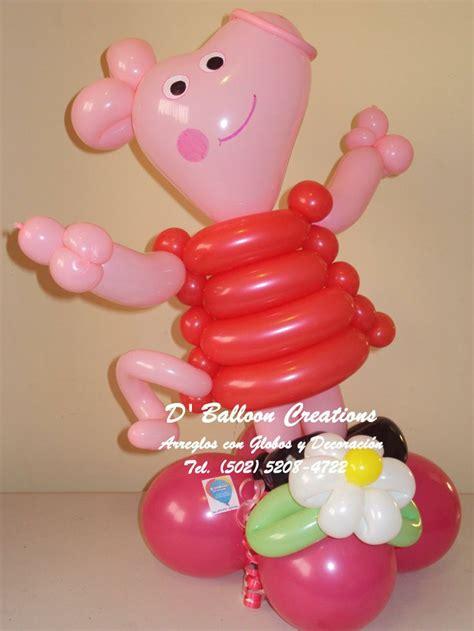 Peppa pig balloons d balloon creations pinterest birthday party ideas