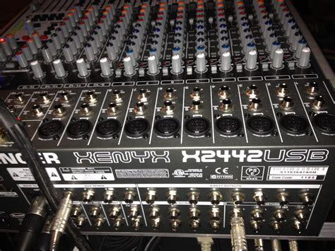 Mixer Behringer 2442fx behringer xenyx 2442fx image 1078111 audiofanzine