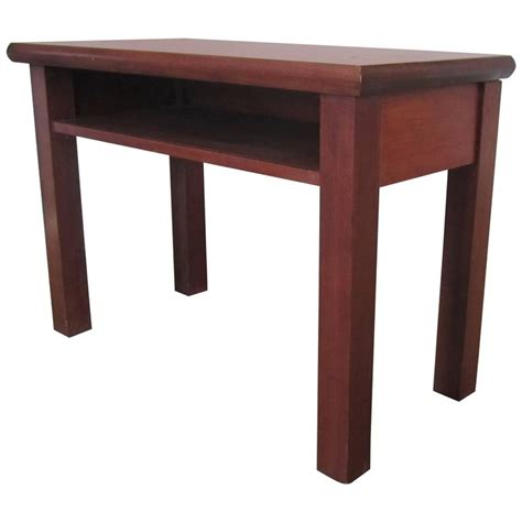 side table with shelf small end or side table with shelf for sale at 1stdibs