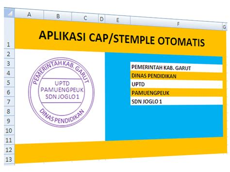 cara membuat struktur organisasi sederhana aplikasi sederhana cara membuat stempel sekolah berkas