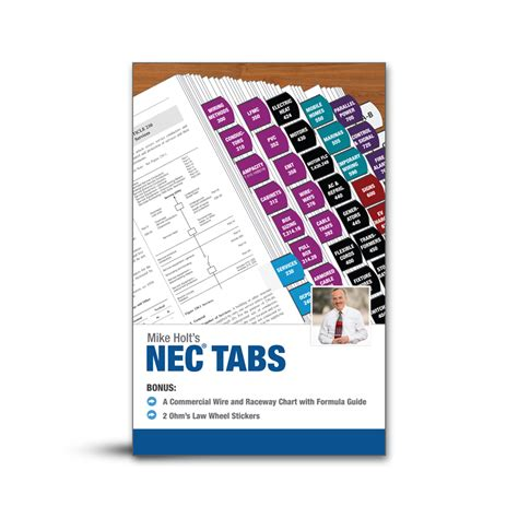 color coded ez tabs for the 2017 national electrical code mike holt product list