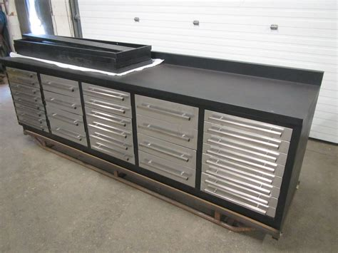Stainless Steel Workbench With Drawers by Lista Style 30 Drawer Bench Heavy Duty Cabinet With