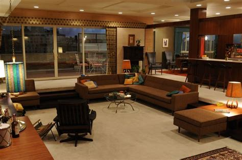 Don S Upholstery by Don Draper S Apartment In Mad Men